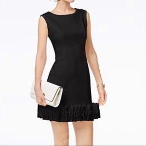 Donna Ricco black cupcake hem dress 10